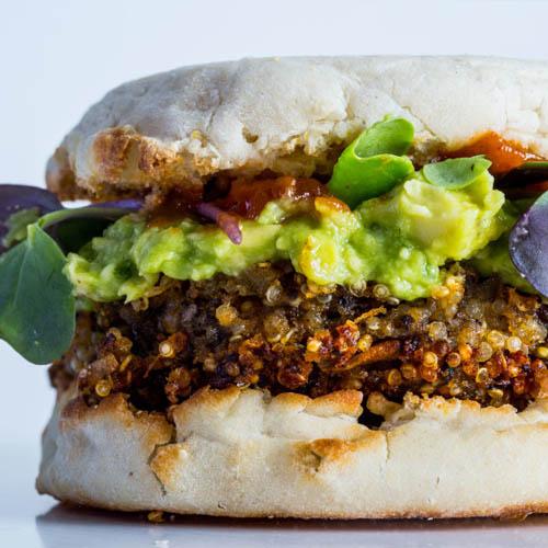 Stellar Quinoa Burger